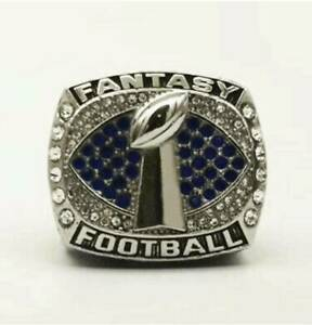 2021 FFL Fantasy Football League Champion Championship Rings HOT Buffalo Bills