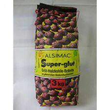 "Grill-Holzkohle-Brikett ""Alsimac super - 3 kg/Sack"