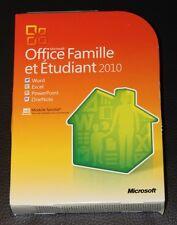 Microsoft  Office Home and Student 2010, Frazösisch- 3 Lizenzen