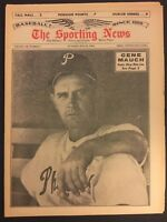 1964 Sporting News PHILADELPHIA PHILLIES Gene MAUCH No Label BASEBALL'S GENIUS