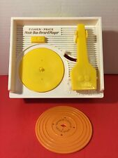 Fisher Price 2010 Mattel Music Box Record Player 1 Double Sided Record Gift