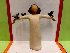 "Vtg.New. Never Used.2004 Willow Tree Figurine ""Happiness "".Excellent Condition."