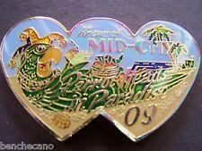 2009 JIMMY BUFFETT--PARROT HEADS IN PARADISE Multi-Color Mardi Gras Doubloon