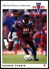 George PARRIS West Ham United # 258 PANINI CALCIO 1992 Card (C358)