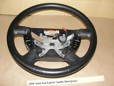 2002-2005 Ford Explorer LEATHER WRAPPED STEERING WHEEL & CRUISE CONTROL SWITCHES