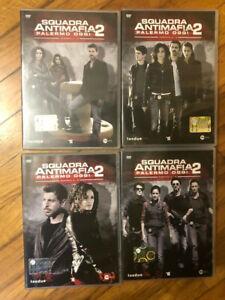 SQUADRA ANTIMAFIA - Stagione 2 - COFANETTO - 4 DVD