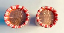 TWO COMPLETE ROLLS OF LINCOLN CENTS 2009 P and 2009 D NEVER OPENED MINT!