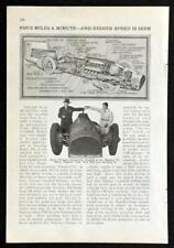 1931 Sir Malcolm Campbell Bluebird II Daytona article