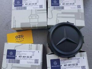 4x Genuine Mercedes-Benz G-Class W460 W461 Wheel Centre Cap A4614010225