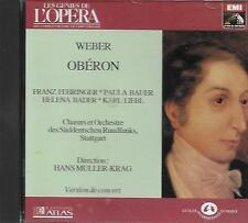 CD album: Weber: Obéron. Hans Muller-Krag. EMI . O