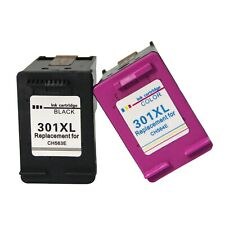 Negro Y Color Cartuchos de Tinta para HP301 XL Deskjet 2050A 2510 2512 2540