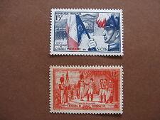 FRANCE neufs  n° 996 et 997 (1954)