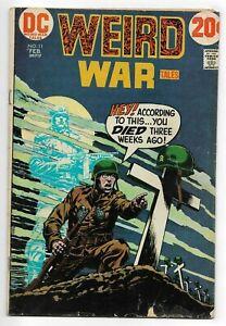 Weird War Tales #11 DC Comics 1973 VG-
