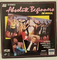 DAVID BOWIE Absolute Beginners US Laserdisc MINT Shrink LP Sade KINKS OOP!
