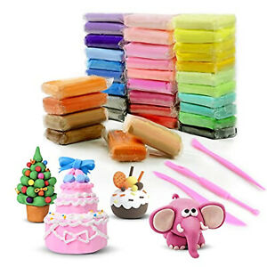 36 Colors Air Dry Clay DIY Ultra Light for Modeling, Creative Magic Crafts Kit