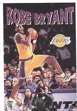 1997 Kobe Bryant Rookie Year Lakers Poster OOP