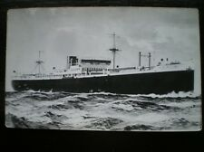 POSTCARD - RP MV PACIFIC RELIANCECARGO VESSEL BUILT 1927 SUNK TORPEDO 1940 MERCH