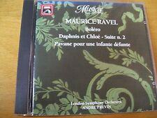 MAURICE RAVEL BOLERO  ANDRE PREVIN  CD