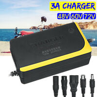 48V 60V 72V 3A Charger Lithium Battery For Single-wheeled Electric Bicycle Ebike