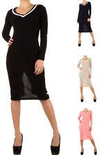 Damenkleider mit V-Ausschnitt für Business-Anlässe in Größe 38