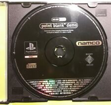 ☆PS1 / PSX Playstation Demo - Point Blank Demo [nur/ only Disc]☆