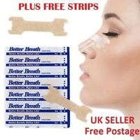 Nose plasters/ strips for snoring - congestion aid- Breathe easy - Free delivery