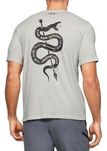 Under Armour Men's Project Rock Snake Workout T Shirt Size Medium 1351581-110