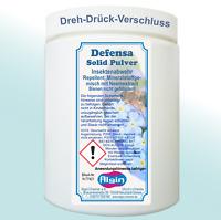 Defensa-solid Pulver 800 ml-Dose Buchsbaumzünsler Ameisen Schnecken Kastanien