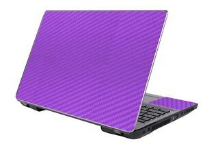 "LidStyles Carbon Fiber Laptop Skin Protector Decal Universal 14"""