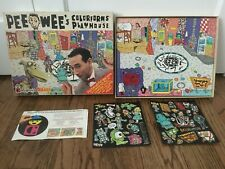 Pee Wee Herman Colorforms Playhouse Deluxe Playset 1987