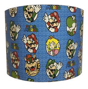 Super Mario Kart Lampshades, Ideal To Match Super Mario Kart Duvet Covers.
