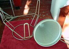Vintage Aluminum Tomato Juicer Ricer on Stand Masher Strainer Colander Canning