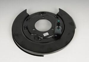 Brake Backing Plate Rear Right ACDelco GM Original Equipment 25911892