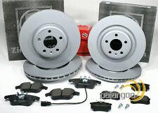 VW Phaeton 3D - Zimmermann Bremsscheiben Bremsen Bremsbeläge für vorne hinten