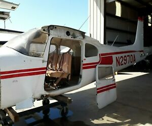 1953 Cessna 180 Parted Fuselage Only No Doors No Engine No Wings No Empennage