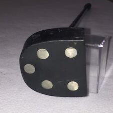 "Vintage PM Dubow Mallet Putter RH 35.5"" Black"