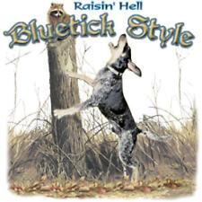 T-Shirt Long Sleeve Shirt Coon Hound Dog Hunts Hunter Bluetick Treeing Rasin'