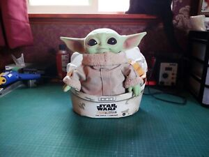 The Child Mandalorian Grogu Baby Yoda Mattel 11 inch 2020 plush doll with pram