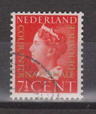 D20 Dienst zegel 20 used gest. NVPH Netherlands Nederland Pays Bas COUR