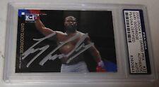Gary Goodridge Signed 2000 Epoch K-1 Grand Prix Card PSA/DNA UFC Pride Autograph