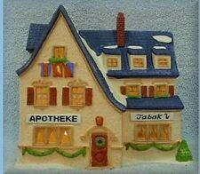 Dept 56 Alpine Village 'Apotek & Tabak' Apothecary & Tobacco *Nib* 65407