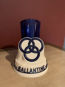 1950 ballantine ale beer back bar sign