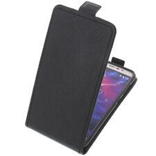 Tasche für MEDION Life E5006 FlipStyle Handytasche Schutz Hülle Case Schwarz