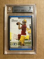 2005 AARON RODGERS BGS 9 MINT ROOKIE RC BOWMAN PACKERS #112
