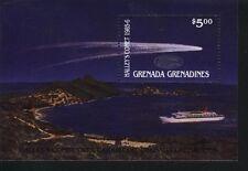 Grenada-Grenadines MNH Sc 791 Halley Comet Souvenir sheet