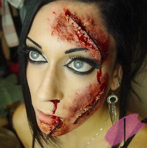 Halloween Liquid Latex Bottle - Zombie Decaying Flesh Skin Scar Make Up FX Wound