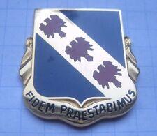 355th Régiment USAR/fidem praestabimus/US Army Crest Pin (148i)