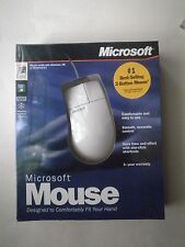 Microsoft 2 Button Ergonomic Serial and PS/2 Version Brand New!