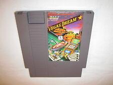Vegas Dream (Nintendo NES) Game Cartridge Excellent
