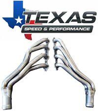 Texas Speed Silverado Sierra 1 34 Stainless Steel Long Tube Headers 07 13 V8